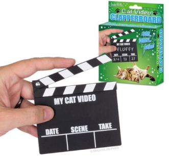 Cat Clapboard, Archie McPhee, Cat videos