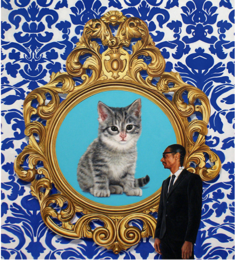 Marc Dennis, Cat, art show, los angeles, Snoop Dogg