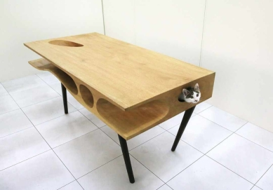 Cats, furniture, cat table, multifunction, multi-user coffe table, desk,