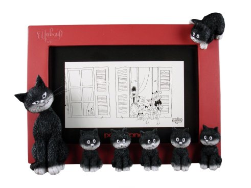 Cats, Kittens, Black cats, Picture frames, Housewares, Les Chats de Dubout, The Cats by Dubout, 3D picture frame, collectables, Rolo Store