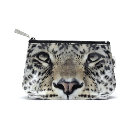 Leopard make up bag catseye london