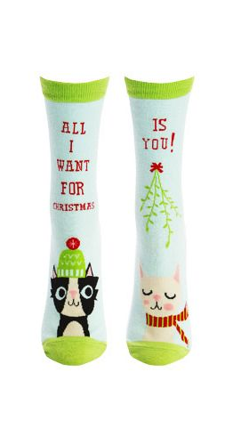 cats, kittens, Christmas gifts, holiday gifts, gifts, socks, sock it to me, feline fun, presents,