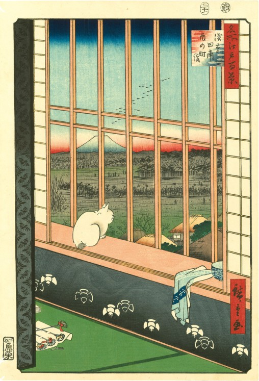 Life of Cats , From the Hiraki Ukiyo E Collection,  Japan Society, Gallery Cats in Japanese Art, Cats in Art, Cat Art, Cats Ukiyo E, Japan, New York, Utagawa Kuniyoshi, famous internet cats, famous cats before the internet, tigers, dragons
