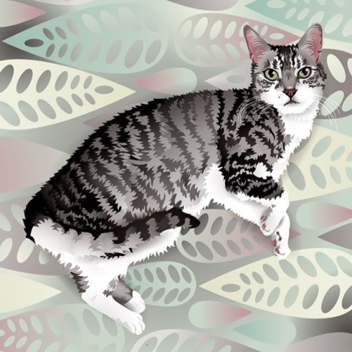 Buy it GIve it, Cats, Christmas gifts, gifts for cat lovers, unique cat themed gifts, Olive & Rye, holiday gifts, Tote Bags, Accessories, Olive & Rye, Digital Art, Cat Art