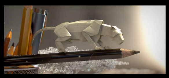 National Geographic, Short Film Showcase, Miniature World of Animated Paper Wildlife, conservation, wildlife, big cats, art