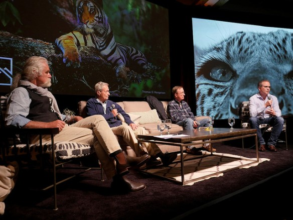 Dereck Joubert, Thomas Lovejoy, George Schaller, Dr. Jonathan Baillie,Jackson Hole, Wildlife Film Festival, Conservation Summit, Big Cats, Wild Cats, Jackson Lake Lodge, Grand Teton National Park